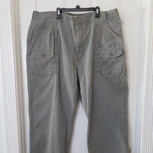 Women's Cabela's 7-Pocket Grey Hiker Pants – 44